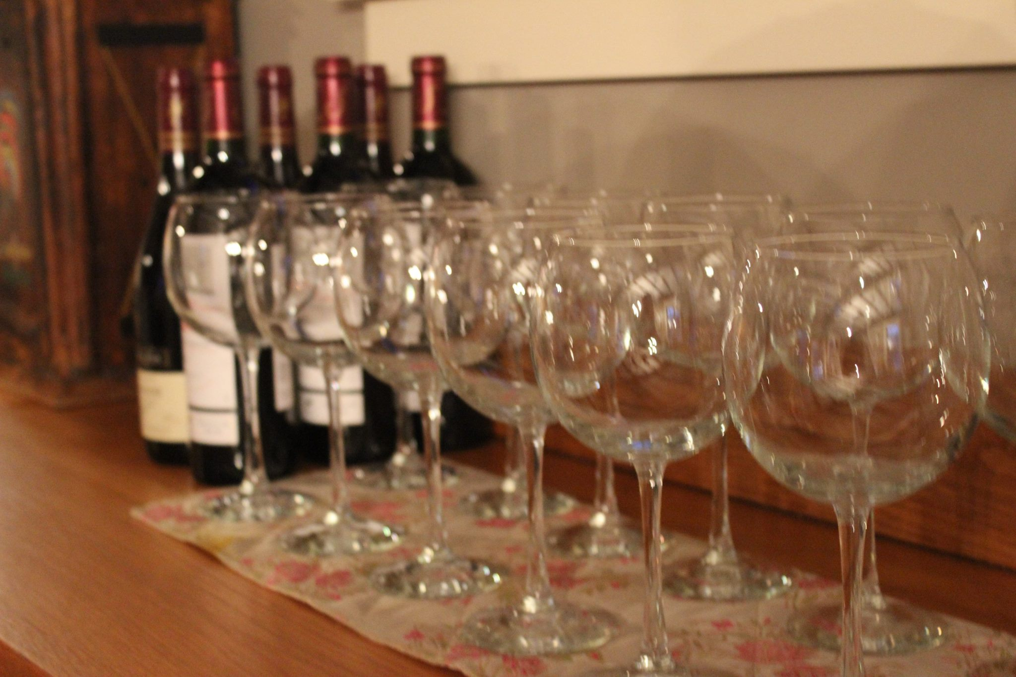 Field to table dinner -Fall Wine Dinner